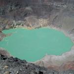 エルサルバドルの隠れた名所サンタアナ火山