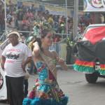 バランキージャのカーニバルを彩るコロンビア美女たち
