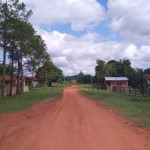 パラグアイ最初の日本人移住地ラコルメナ