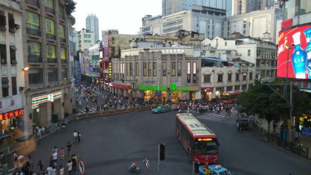 広州のスクランブル交差点的存在の北京路